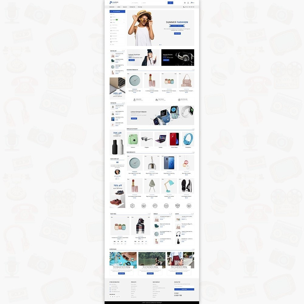 theme - Eletrônicos & High Tech - PayStore - The Mega Ecommerce Store - 2