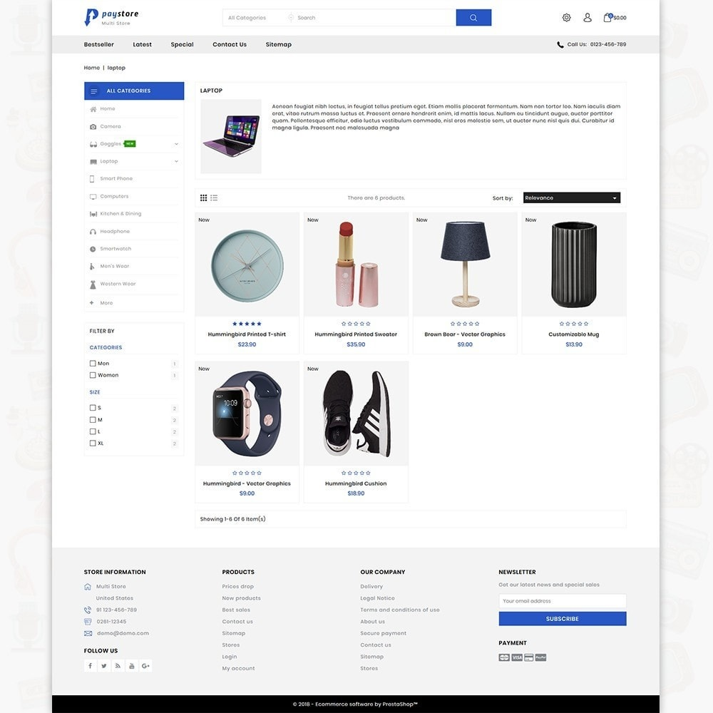 theme - Eletrônicos & High Tech - PayStore - The Mega Ecommerce Store - 3