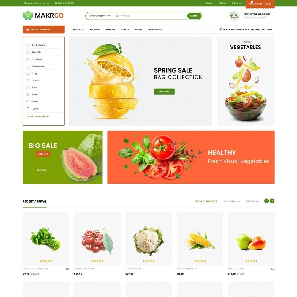 theme - Lebensmittel & Restaurants - Makgro - The Retailer Shop - 2