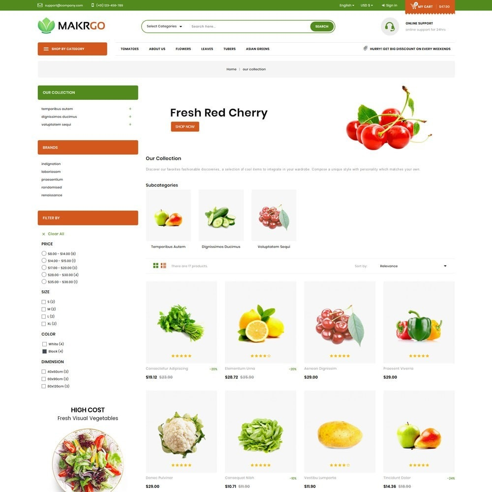 theme - Lebensmittel & Restaurants - Makgro - The Retailer Shop - 4