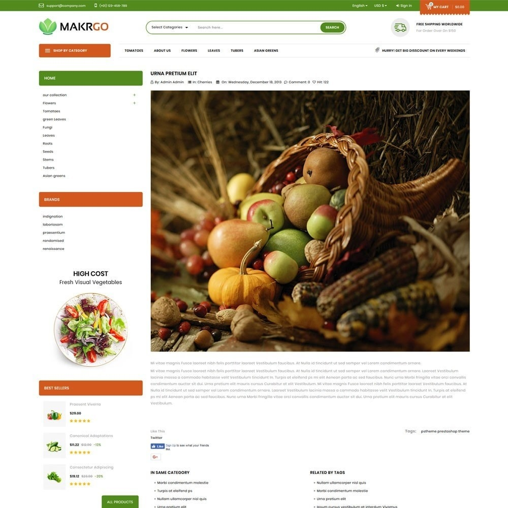 theme - Lebensmittel & Restaurants - Makgro - The Retailer Shop - 7