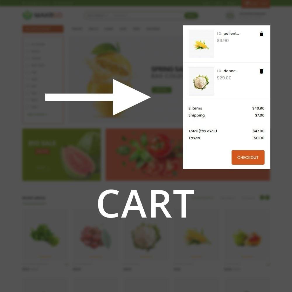 theme - Gastronomía y Restauración - Makgro - The Retailer Shop - 10