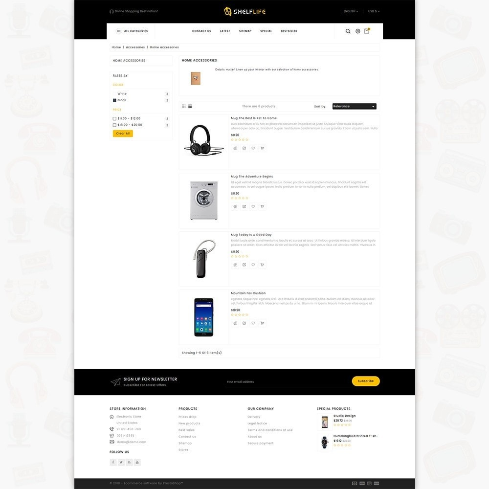 theme - Elettronica & High Tech - Shelf Life-  Special Electronics Store - 4