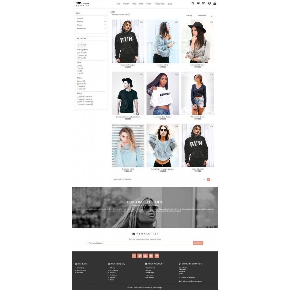 theme - Mode & Chaussures - Prestige Fashion Store - 5