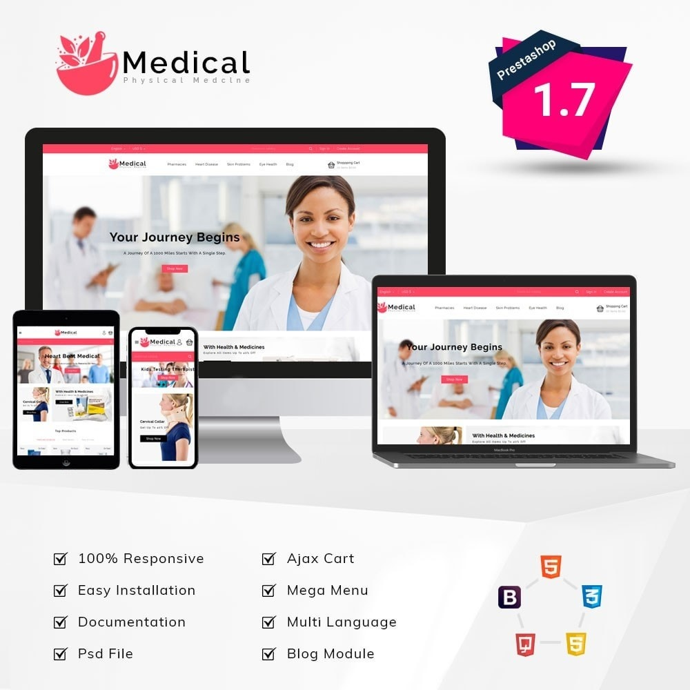theme - Gezondheid & Schoonheid - Medical Pharmacy Store - 1