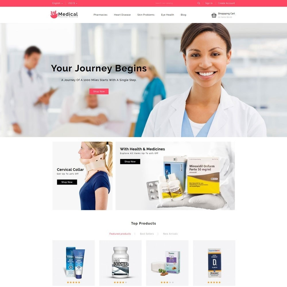 theme - Gezondheid & Schoonheid - Medical Pharmacy Store - 2
