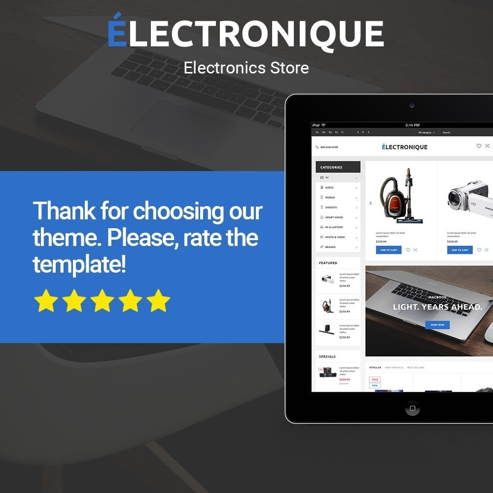 theme - Electronique & High Tech - Electronique - Electronics Store - 2