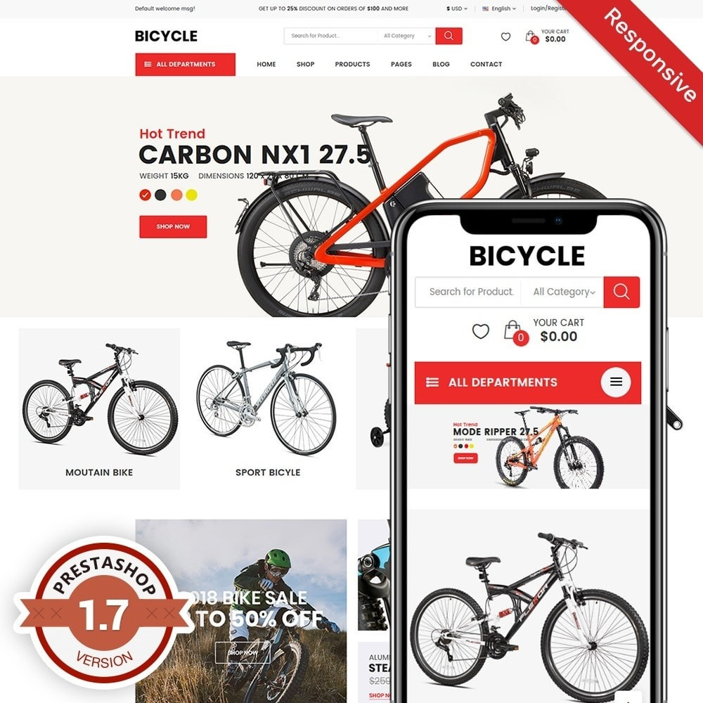theme - Sports, Activities & Travel - Bicycle - 1