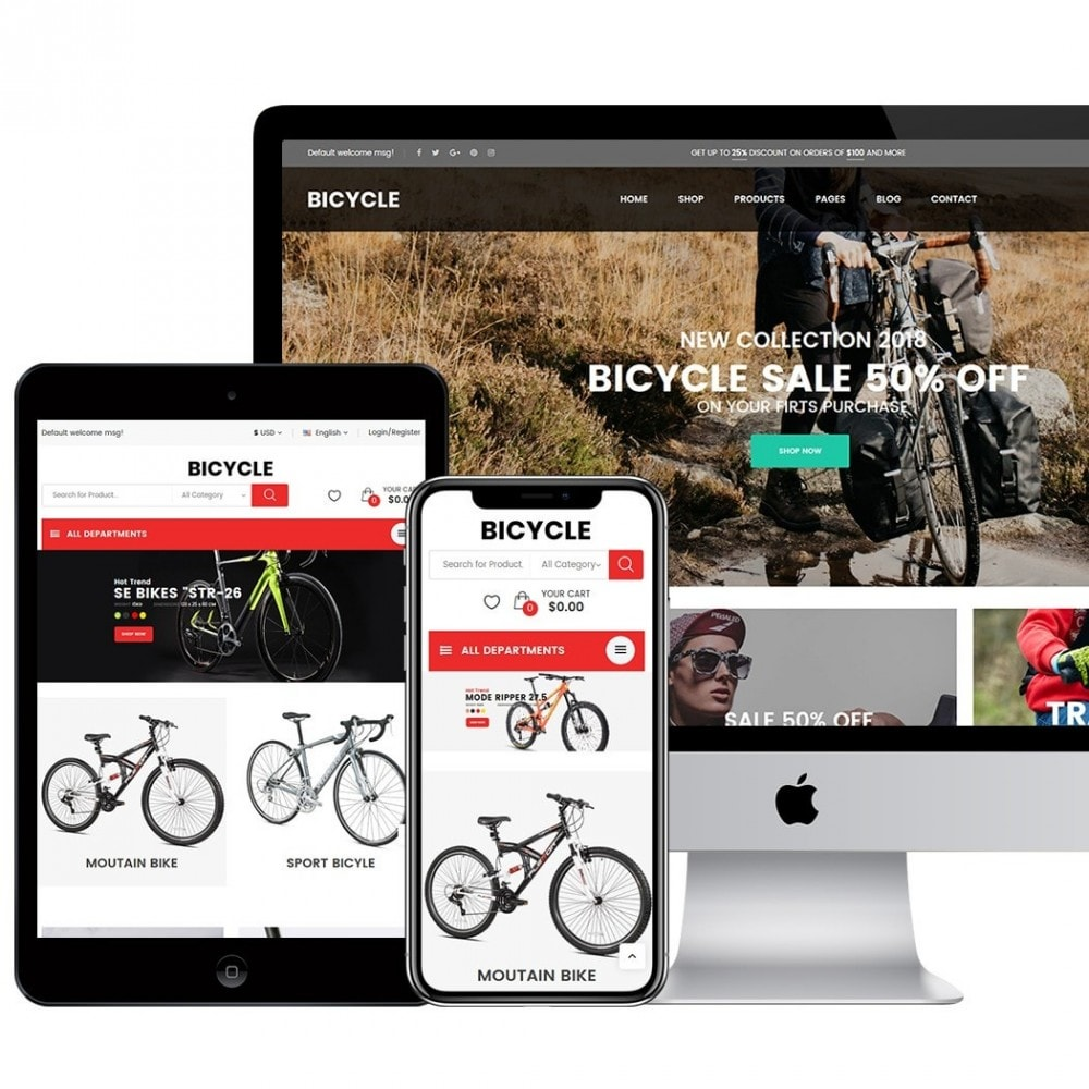 theme - Sports, Activities & Travel - Bicycle - 2
