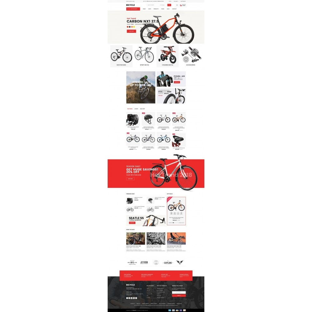 theme - Sports, Activities & Travel - Bicycle - 7