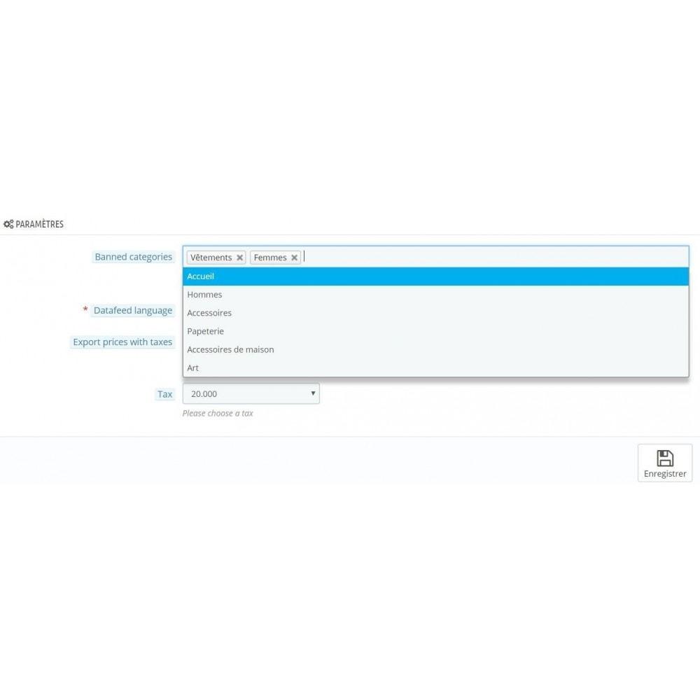 module - Import & Export de données - Flux de produits Awin CSV - 1
