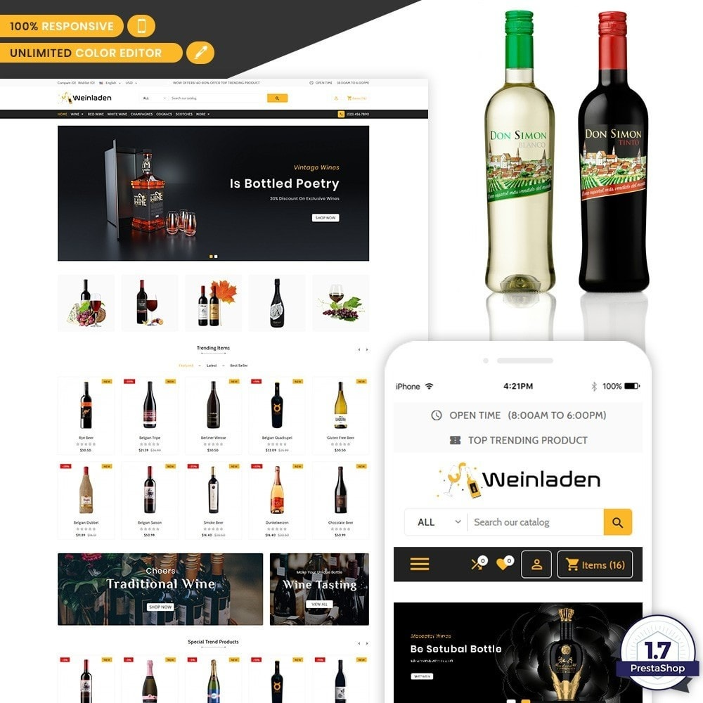theme - Напитки и с сигареты - Wienledan - The Wine International Shop - 1