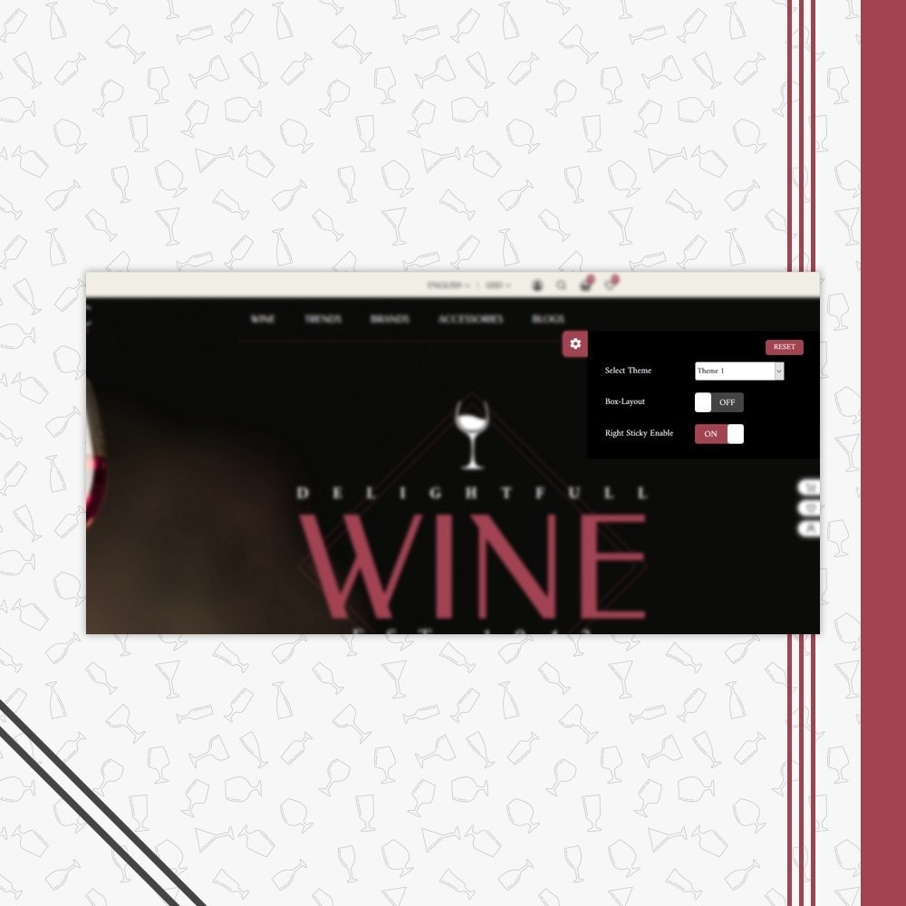 theme - Drink & Tobacco - Wine Shop - 7