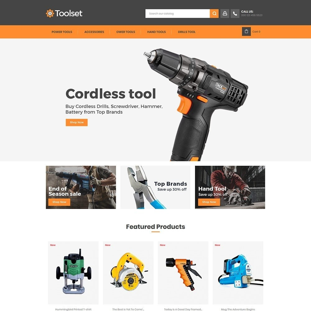 theme - Casa & Jardins - Toolset - Tool Auto Store - 1