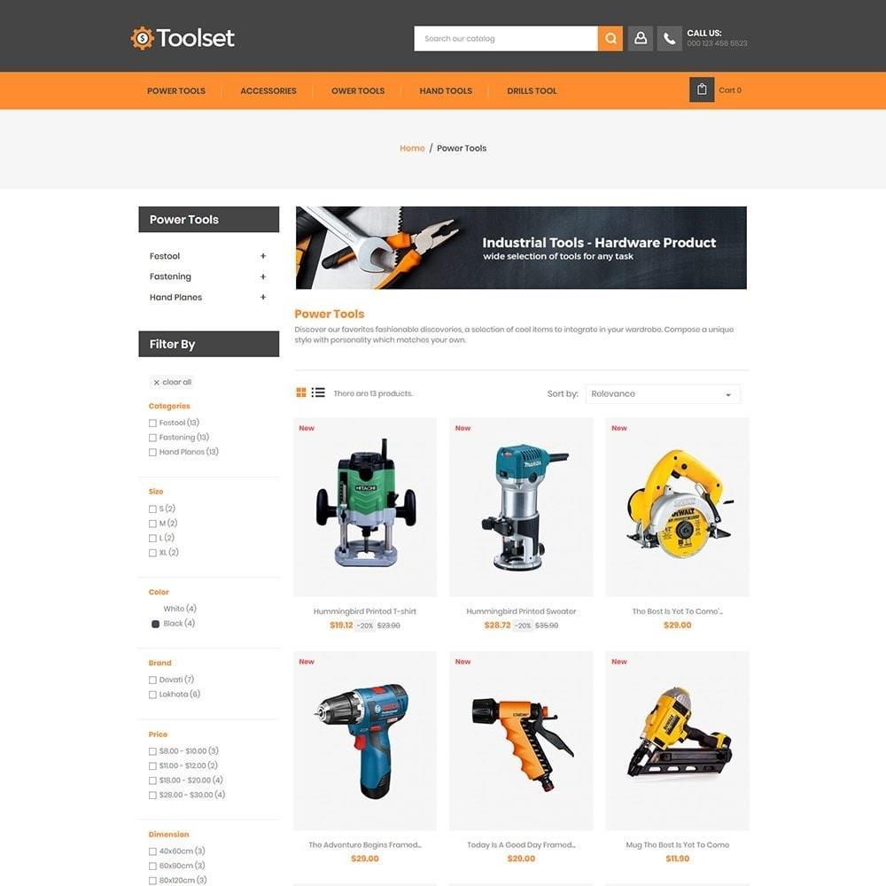 theme - Casa & Jardins - Toolset - Tool Auto Store - 2
