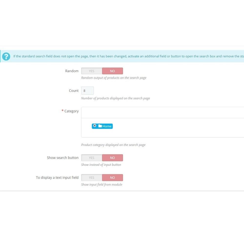 module - Поиск и фильтры - Поиск в полноэкранном режиме - 6