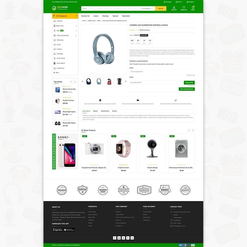 theme - Elektronika & High Tech - Technore - The Best Electronics Super Store - 5