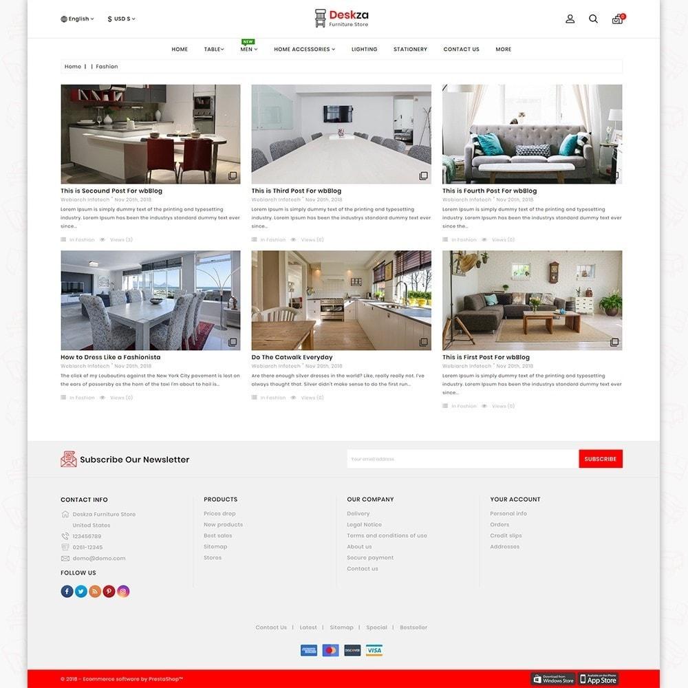 theme - Home & Garden - Deskza - The Best Furniture Store - 6