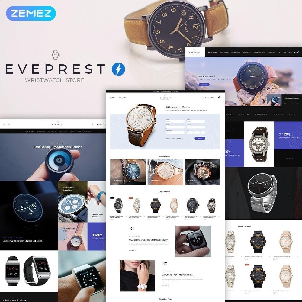 theme - Bijoux & Accessoires - Everprest Wristwatch - Watches Modern Ecommerce - 1