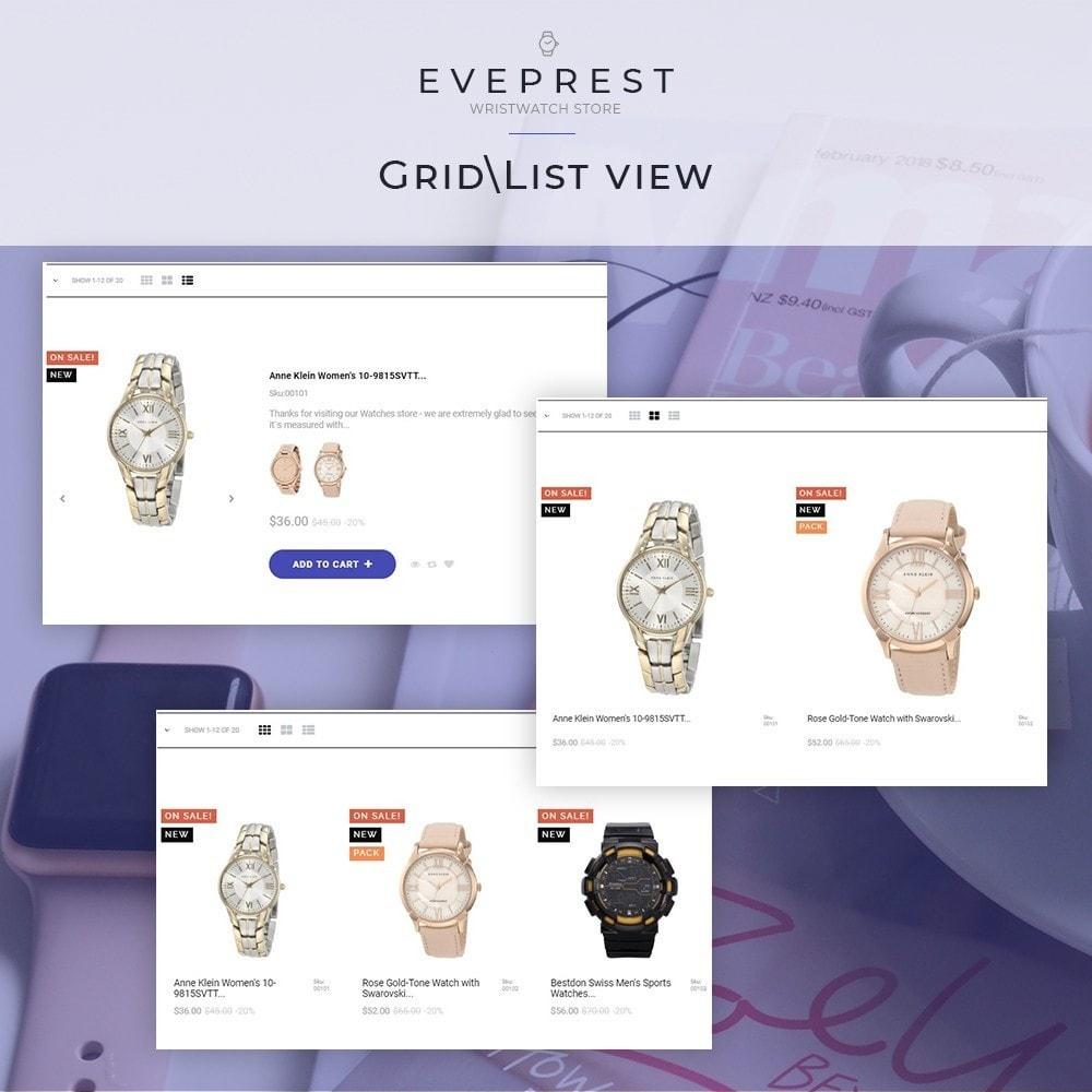 theme - Bijoux & Accessoires - Everprest Wristwatch - Watches Modern Ecommerce - 4