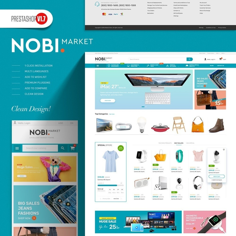 theme - Elektronica & High Tech - Nobi - Electronics Store - 1