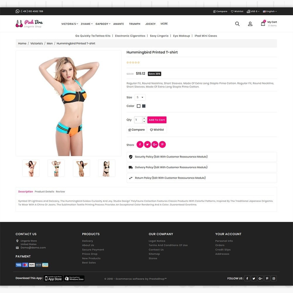theme - Lenceria y Adultos - PinkBra - The Lingerie store - 5
