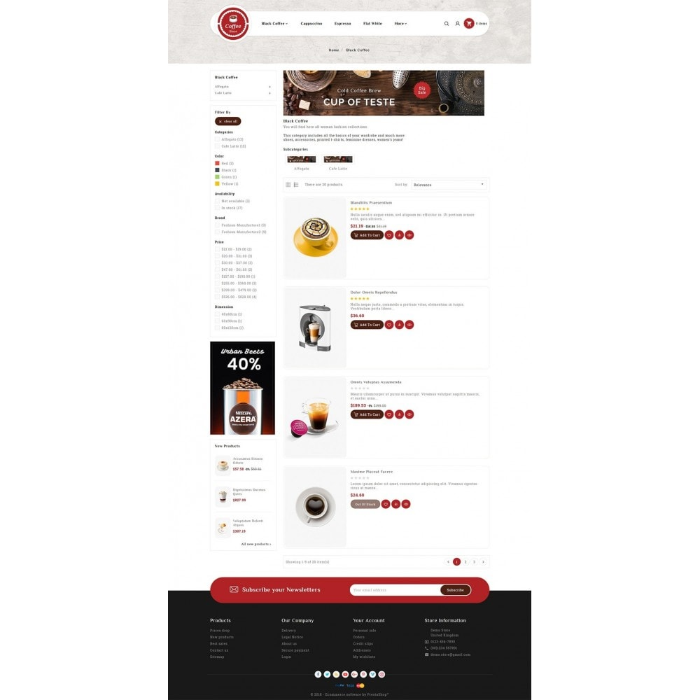 theme - Bebidas y Tabaco - Coffee & Drinks Store - 4