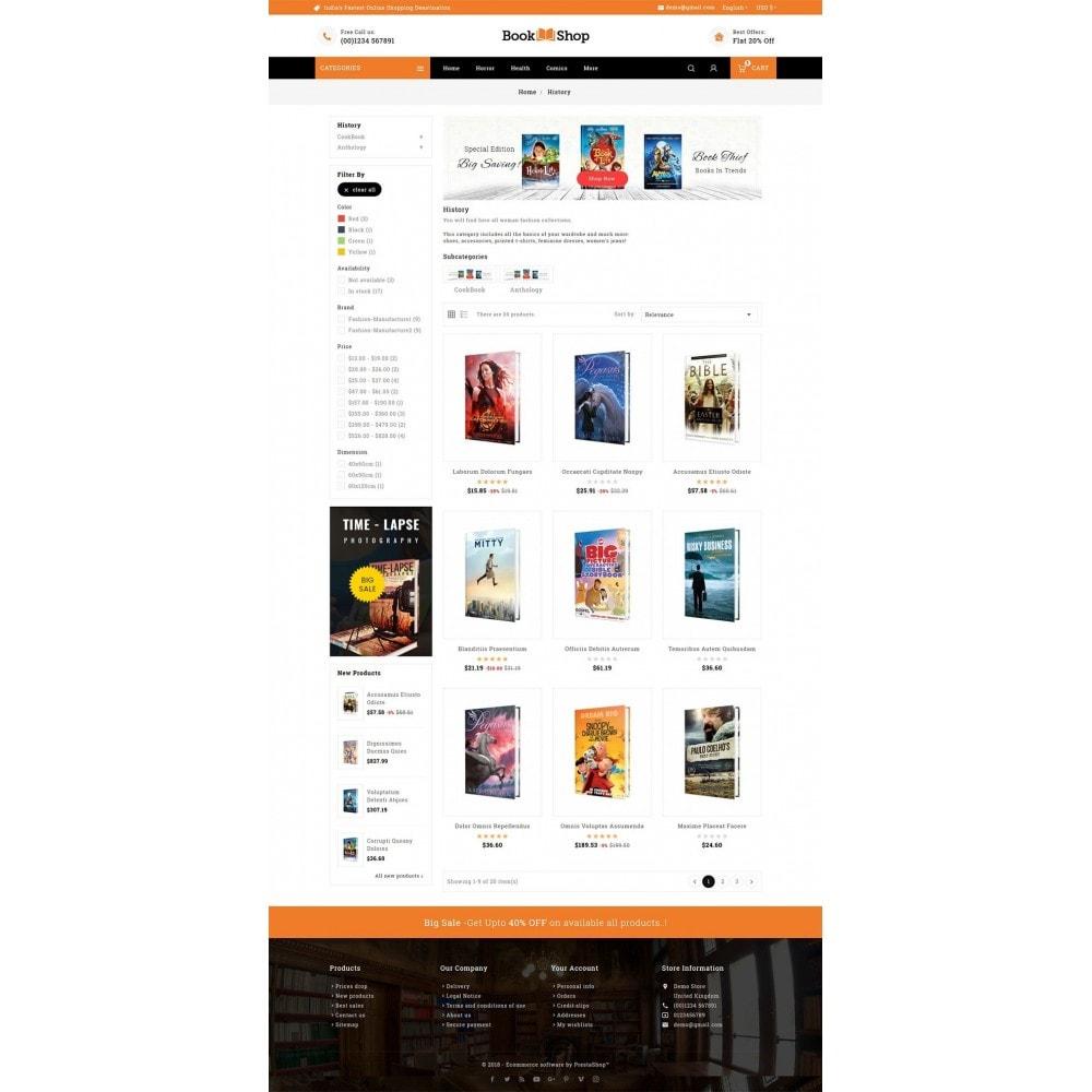 theme - Enfants & Jouets - Book Shop & Library - 3