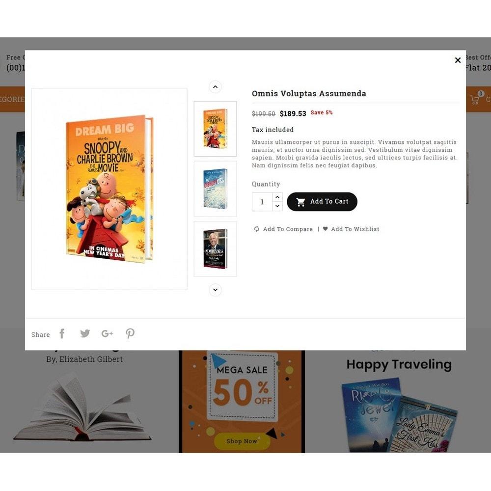theme - Enfants & Jouets - Book Shop & Library - 7