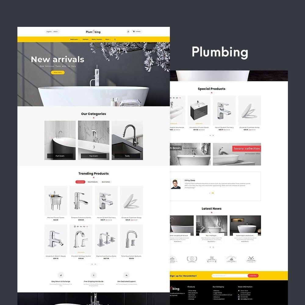 theme - Home & Garden - Plumbing & Hardware - 2