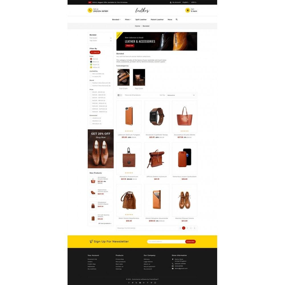 theme - Мода и обувь - Leather Smith & Art - 3