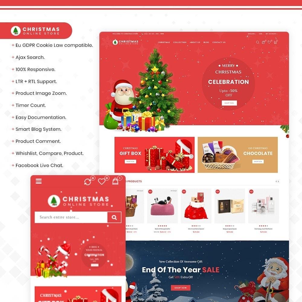 theme - Prezenty, Kwiaty & Uroczystości - Christmas - The gift & celebration - 1