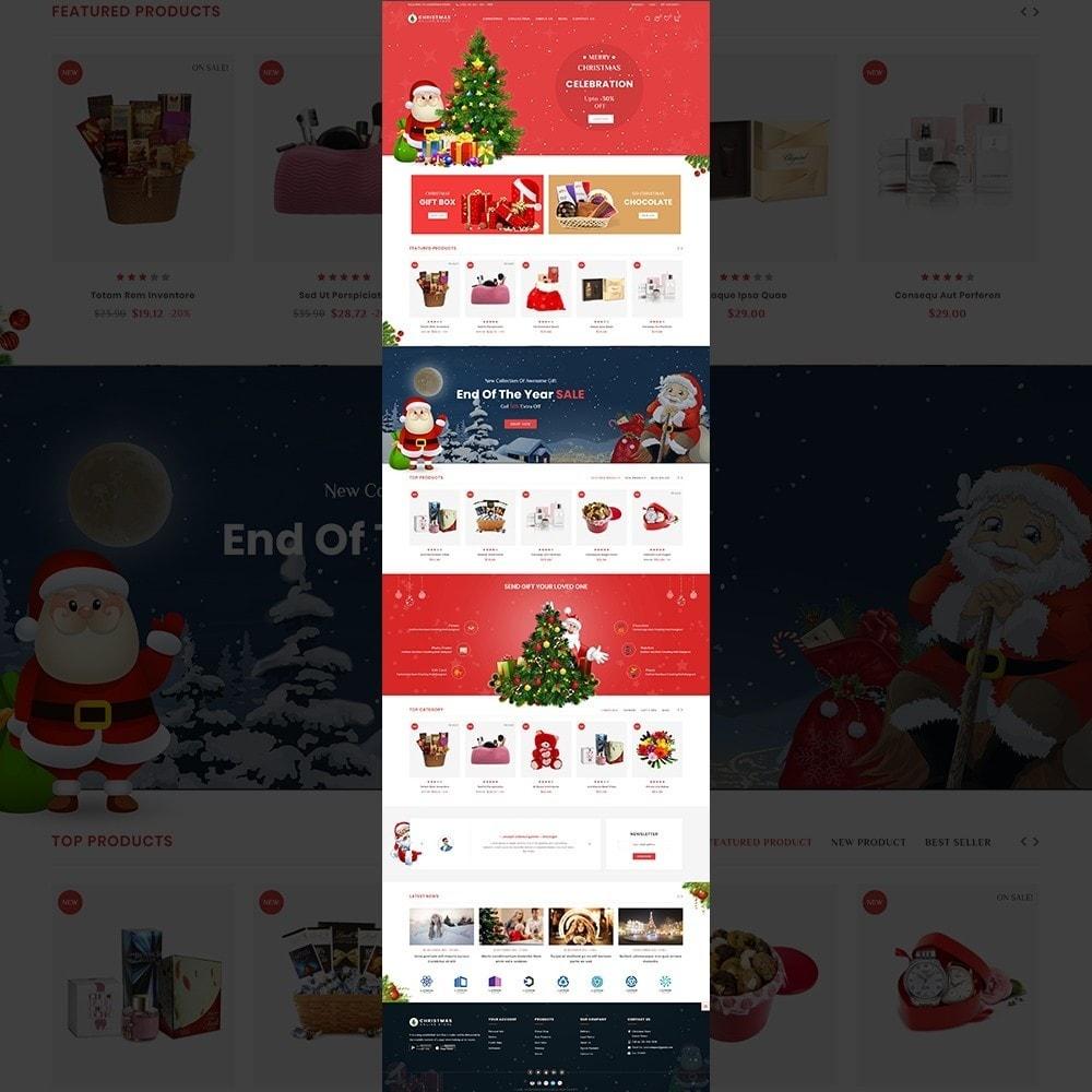 theme - Prezenty, Kwiaty & Uroczystości - Christmas - The gift & celebration - 2