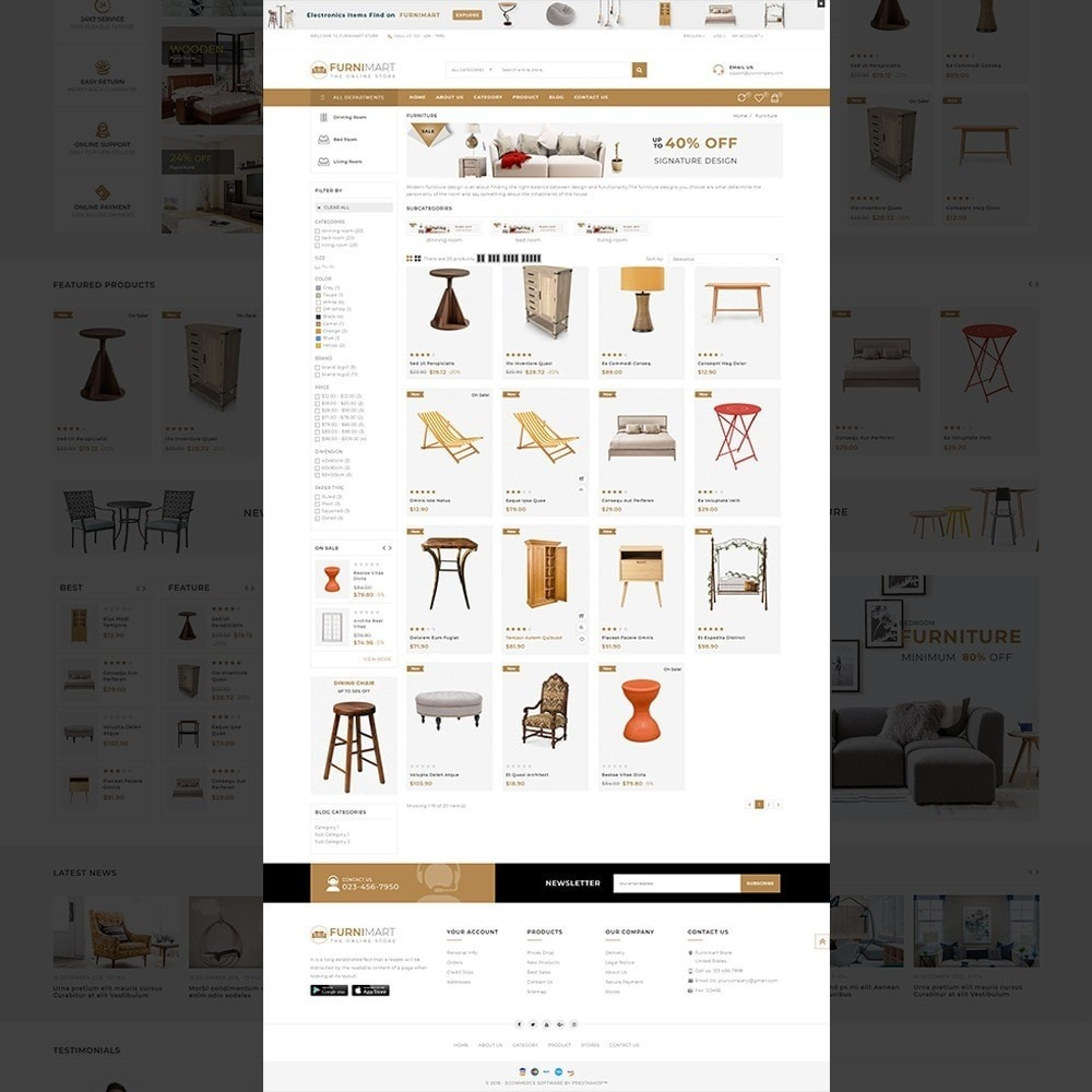 theme - Heim & Garten - Furnimart - The Furniture Store Template - 3
