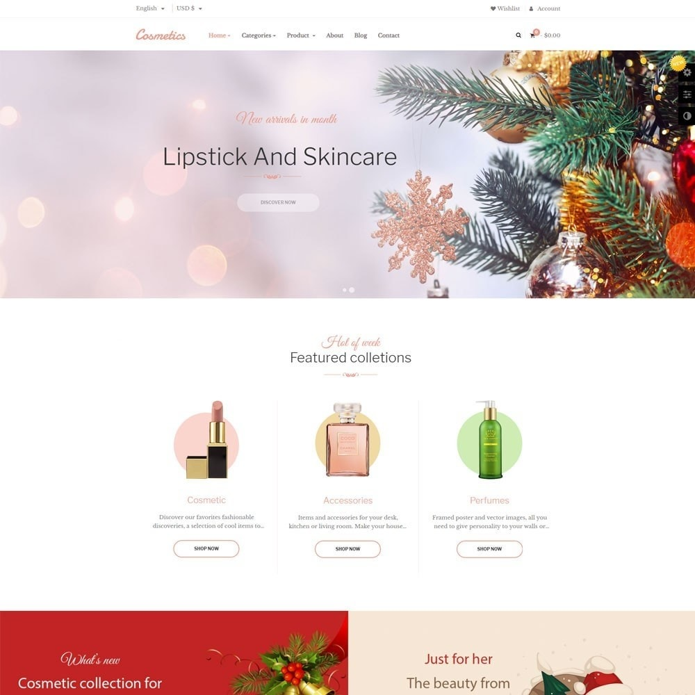theme - Health & Beauty - Leo Cosmetic Store - 2
