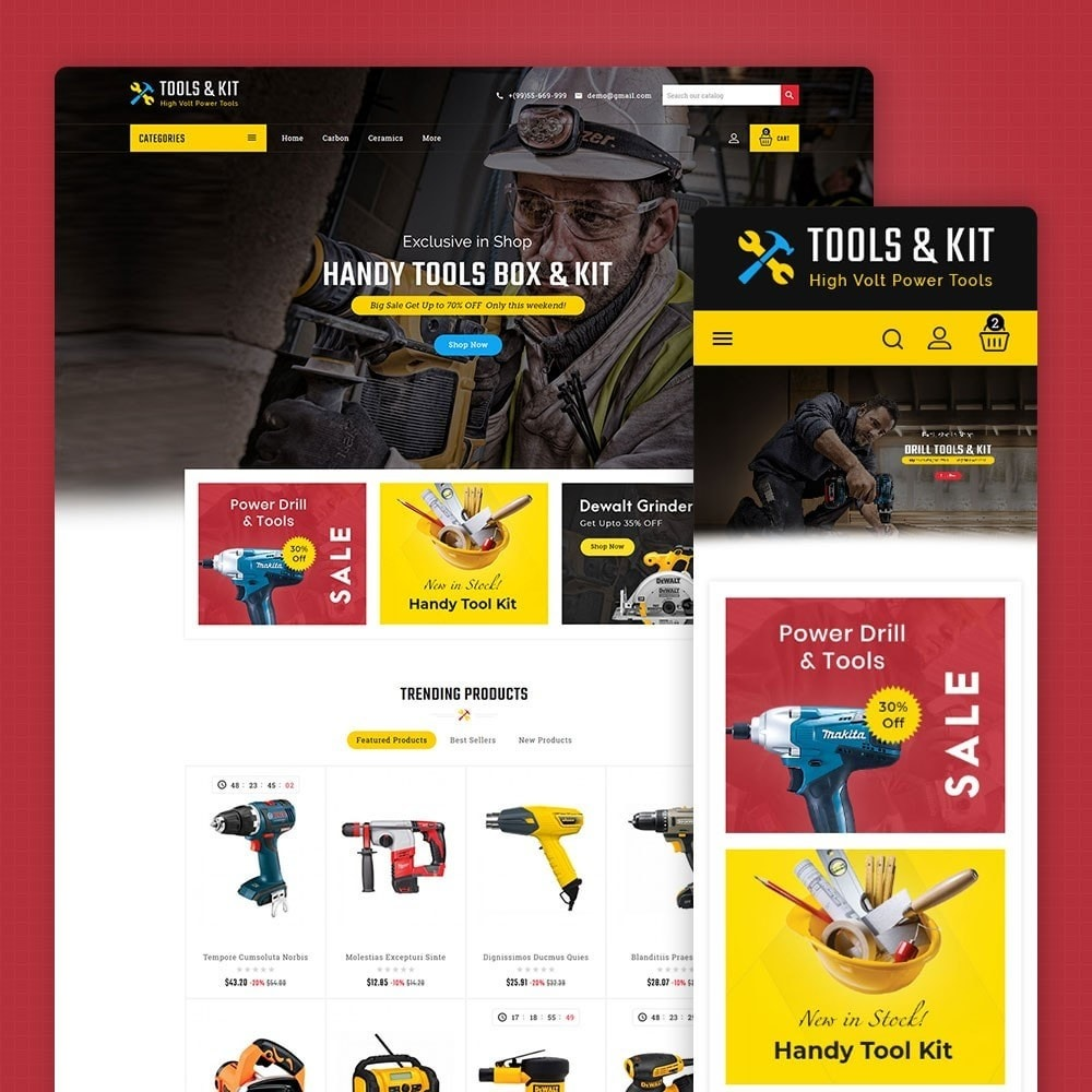 theme - Electronics & Computers - Power Tools & Kit - 1