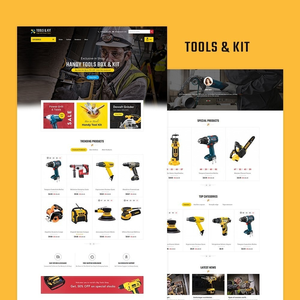 theme - Electronics & Computers - Power Tools & Kit - 2