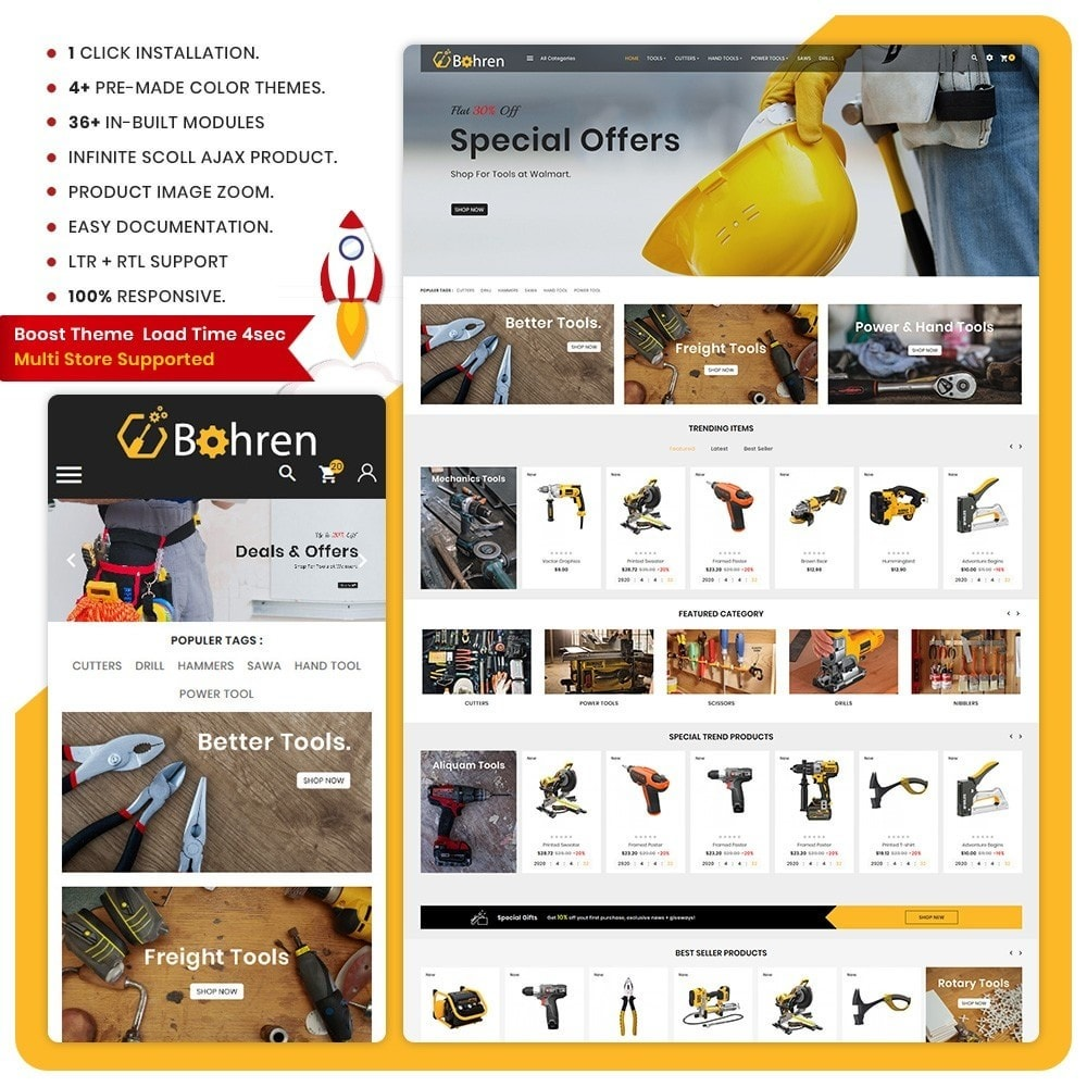 theme - Automotive & Cars - Utensili – The Tools Mega Shop - 1