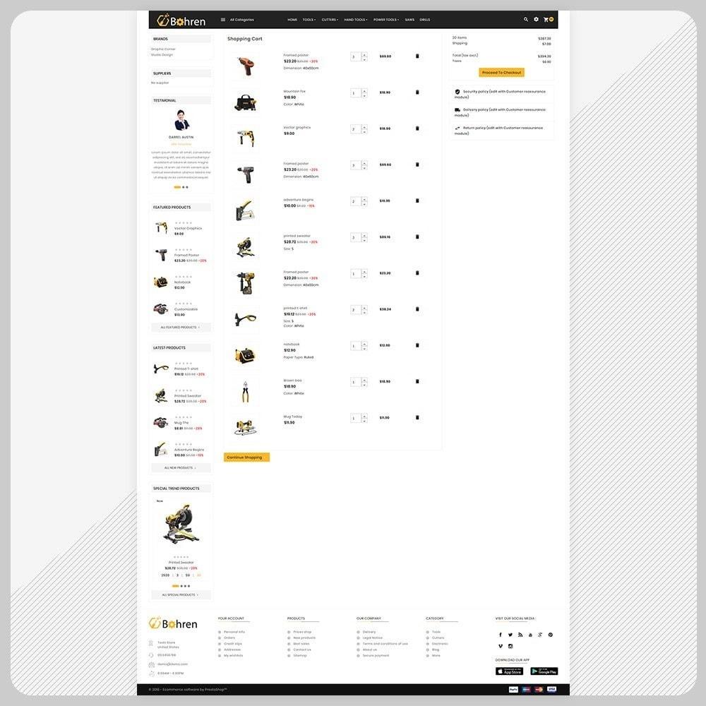 theme - Automotive & Cars - Utensili – The Tools Mega Shop - 5