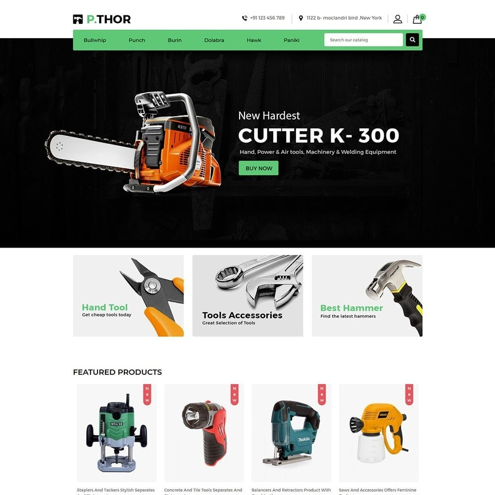 theme - Automotive & Cars - Garden Tool  - Auto Car Store - 2