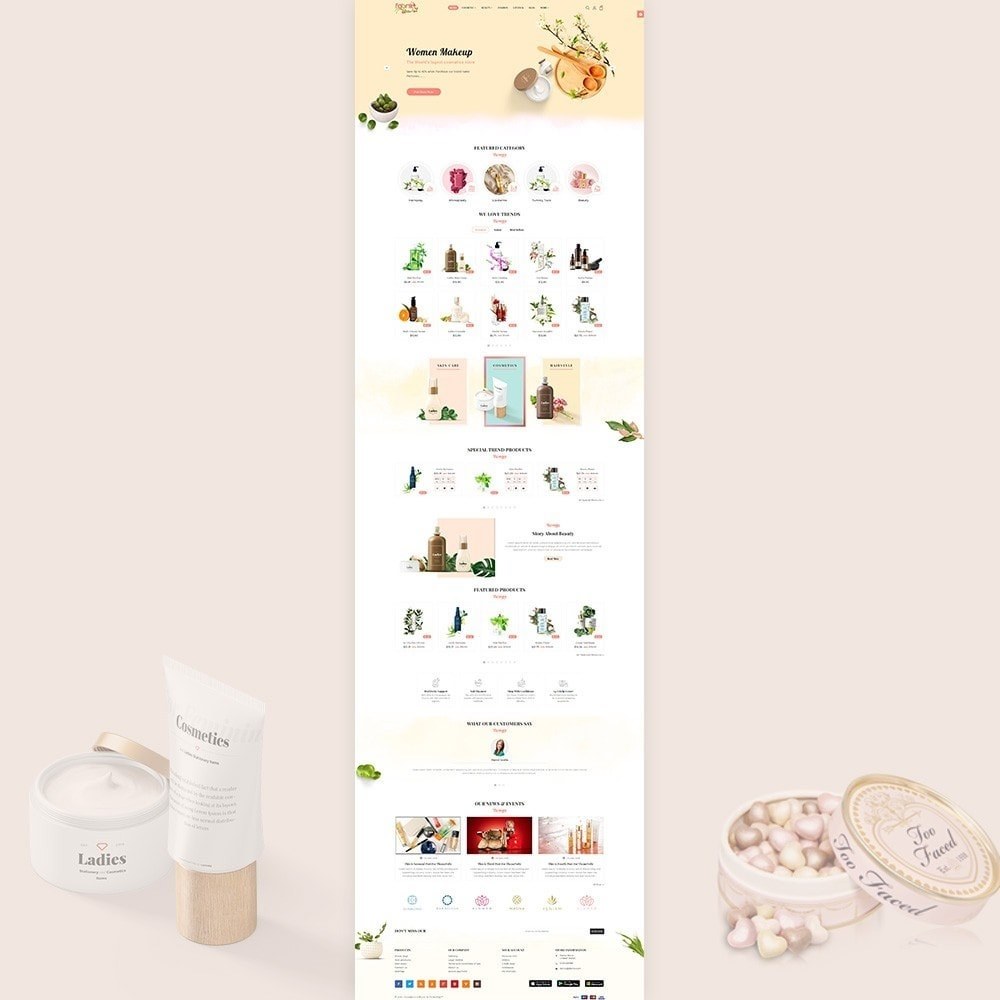 theme - Gesundheit & Schönheit - Fabric - Cosmetic Store - 2