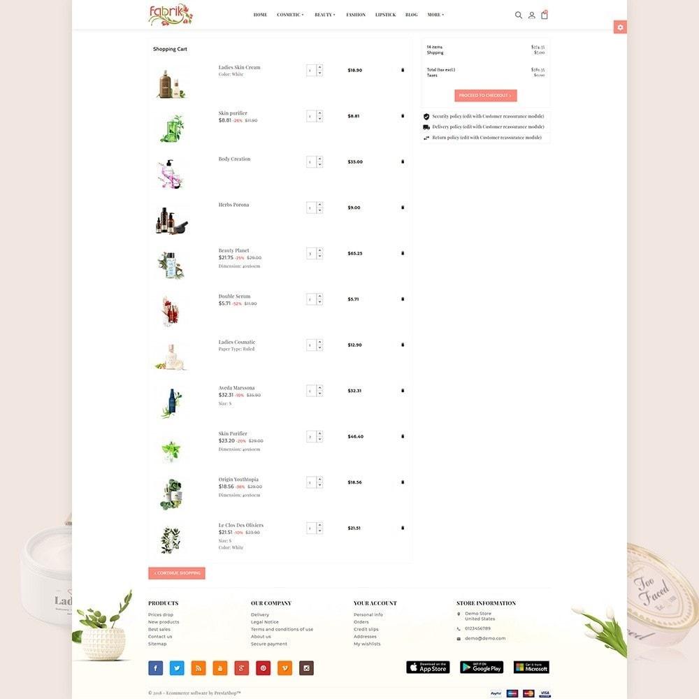 theme - Gesundheit & Schönheit - Fabric - Cosmetic Store - 4