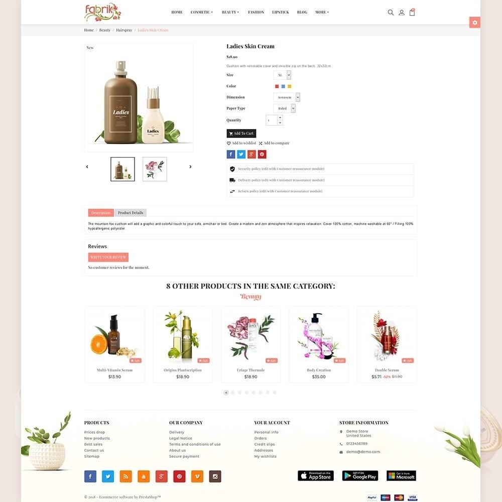 theme - Gesundheit & Schönheit - Fabric - Cosmetic Store - 5