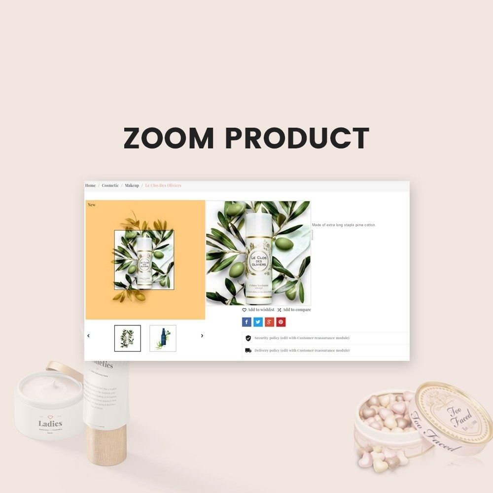 theme - Gesundheit & Schönheit - Fabric - Cosmetic Store - 6
