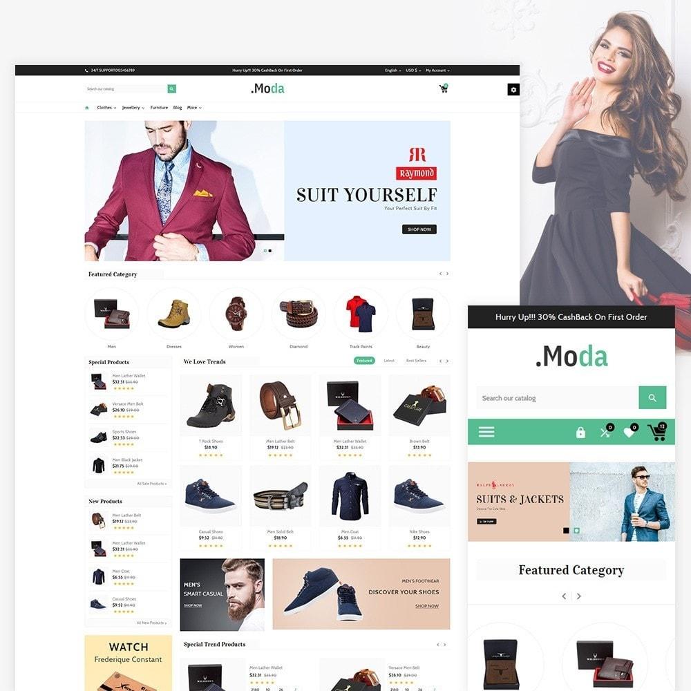 theme - Fashion & Shoes - Moda. - The Fashion Store - 1