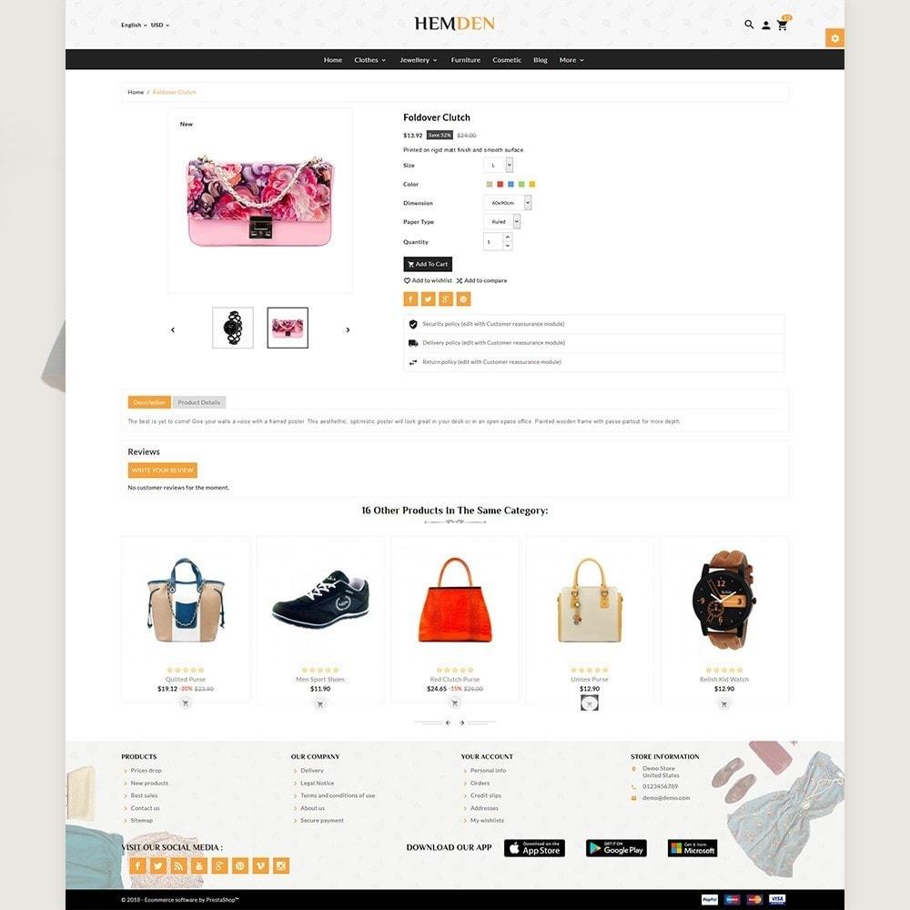 theme - Fashion & Shoes - HemDen - The Fashion Store - 5