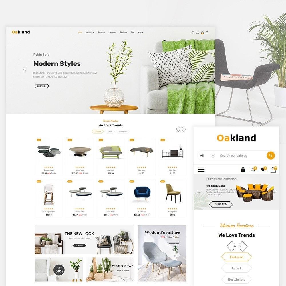 theme - Fashion & Shoes - Oak Land - The Fashion Store - 1