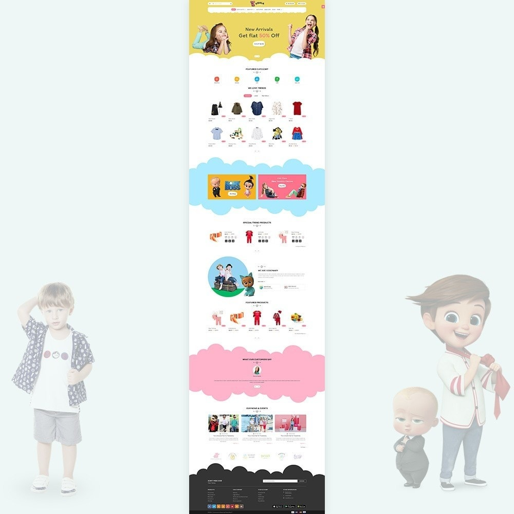 theme - Kinder & Spielzeug - Kola Little The Fashion and Kids Store - 2