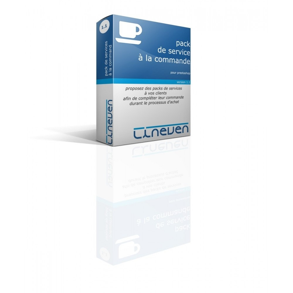module - Ventes croisées & Packs de produits - Packs de services à la commande - 1