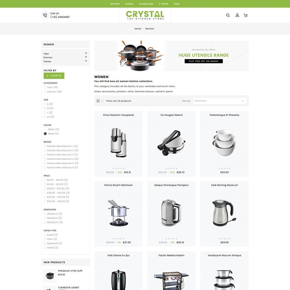 theme - Дом и сад - Crystal Kitchen Store - 5